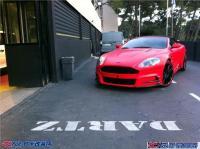 阿斯顿马丁DBS红色改装女皇范儿,欧卡改装网,汽车改装