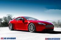 阿斯顿·马丁Vantage S换装HRE轮毂精致完美,欧卡改装网,汽车改装