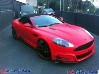 Mansory推出最新改装版红色阿斯顿马丁DBS,欧卡改装网,汽车改装