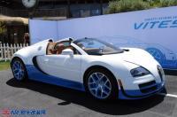 布加迪蓝白敞篷车跑出最快闪电速度,欧卡改装网,汽车改装