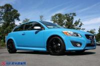 Polestar改装升级沃尔沃V40掀起一股蓝色风暴,欧卡改装网,汽车改装