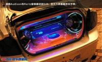 沃尔沃S40改装音响聆听天籁之音,欧卡改装网,汽车改装