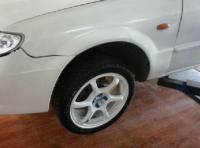 马自达323 改横滨轻量化16寸轮毂,欧卡改装网,汽车改装