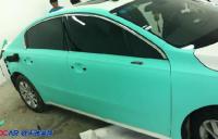 东风标致508车身改色贴膜,欧卡改装网