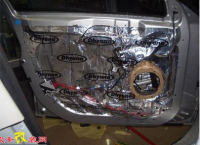 荣威550全车隔音加音响简改,欧卡改装网,汽车改装