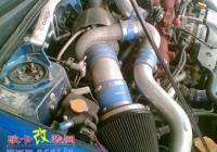 本地豹子也疯狂 斯巴鲁翼豹加装涡轮件,欧卡改装网,汽车改装