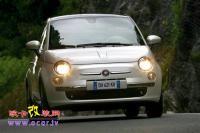 轮毂改装 H&R改装的Fiat 500,欧卡改装网,汽车改装