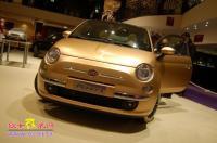 菲亚特500改装身披黄金甲,欧卡改装网,汽车改装