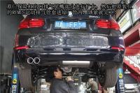 宝马新3系F30改装排气管单边两出,欧卡改装网,汽车改装