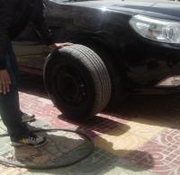 景程更换轮胎,轮毂,欧卡改装网,汽车改装