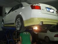 奥迪A 4 3.0改装刹车排气与轮毂,欧卡改装网,汽车改装