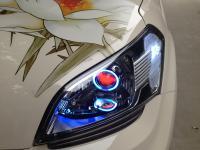 起亚秀尔改装轮毂与大灯,欧卡改装网,汽车改装