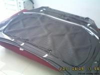 奔腾B50 引挚盖加装隔音隔热棉,欧卡改装网,汽车改装