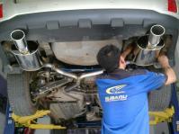 斯巴鲁傲虎2.5改装排气,欧卡改装网,汽车改装