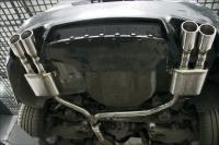 宝马5系改装外观与四出排气系统,欧卡改装网,汽车改装