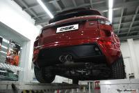 路虎极光改装包围与排气,欧卡改装网,汽车改装
