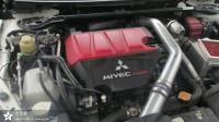 三菱蓝瑟EVO10改进排气与ECU升级,欧卡改装网
