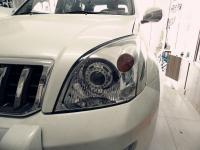 丰田普拉多改Q5透镜,欧卡改装网,汽车改装
