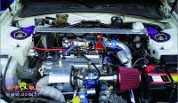 中华骏捷涡轮增压版只为直路狂,欧卡改装网,汽车改装