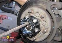 长城赛弗改装前自由轮毂轴头锁,欧卡改装网,汽车改装