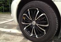 长城炫丽改装轮毂与安装无线胎压监测,欧卡改装网,汽车改装