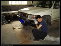 完美DIY 长城赛弗改装前护杠,欧卡改装网,汽车改装