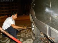 """行车安全长城M1轮毂""""以旧换旧""""改装全过程,欧卡改装网,汽车改装"""
