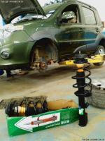 舒适性提升哈弗M1更换格柏威前减震器总成,欧卡改装网,汽车改装
