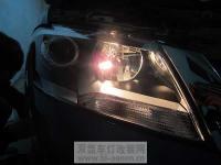 新款朗逸升级正品Q5双光透镜,欧卡改装网,汽车改装