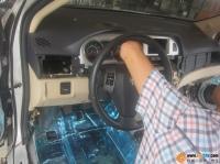 长城腾翼C30全车隔音 拆仪表台做防火墙拆沥青,欧卡改装网,汽车改装