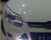 新福克斯加装U型LED光导日行灯,欧卡改装网,汽车改装