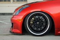 英菲尼迪 G35改装的恶魔红欣赏,欧卡改装网,汽车改装