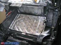 静谧的驾驶室 保时捷卡宴全车隔音改装STP,欧卡改装网,汽车改装