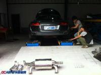 奥迪R8 排气管升级,欧卡改装网,汽车改装