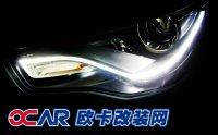 黑夜之光  奥迪A1改装天使眼,欧卡改装网,汽车改装