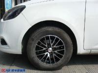 名爵3换装14寸铝合金轮毂,欧卡改装网,汽车改装