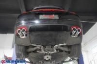 保时捷panamera升级IPE中尾段排气,欧卡改装网,汽车改装
