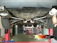 减弱噪音 克莱斯勒300C改方口排气,欧卡改装网,汽车改装