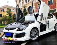 北京现代i30剪刀门改装,欧卡改装网,汽车改装