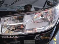 效果非常棒 酷威大灯升级氙气Q5双光透镜,欧卡改装网,汽车改装