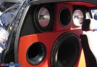 西雅特改装MTX音响效果明显,欧卡改装网,汽车改装