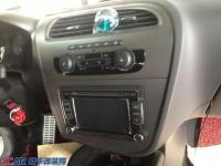 大众进口西雅特音响改装-----西安上尚汽车音响改装,欧卡改装网,汽车改装