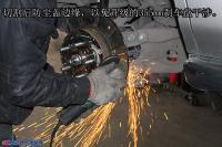 讴歌MDX升级UPSOAR前后刹车套装作业图鉴赏,欧卡改装网,汽车改装