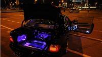 奔驰CLK汽车音响改装--德国彩虹、美国大地震,欧卡改装网,汽车改装