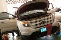 【兰州诺申】福特探险者全车隔音,欧卡改装网,汽车改装