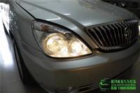别克GL8陆尊改Q5双光透镜+光导天使眼,欧卡改装网,汽车改装