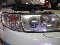 萨博 95 Q5透镜 汉雷氙气灯,欧卡改装网,汽车改装