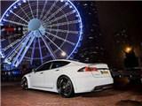 特斯拉TESLA MODEL S改装 Revozport R-Zentric碳纤维压尾翼 鸭尾,欧卡改装网,汽车改装