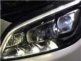 奔驰CLS320改原厂高配智能随动LED大灯,欧卡改装网,汽车改装