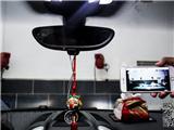 保时捷卡宴装原装位wifi隐藏行车记录仪,欧卡改装网,汽车改装